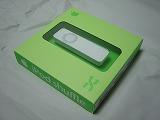 iPod shuffle、緑の外箱
